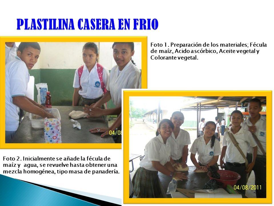 PLASTILINA CASERA EN FRIO