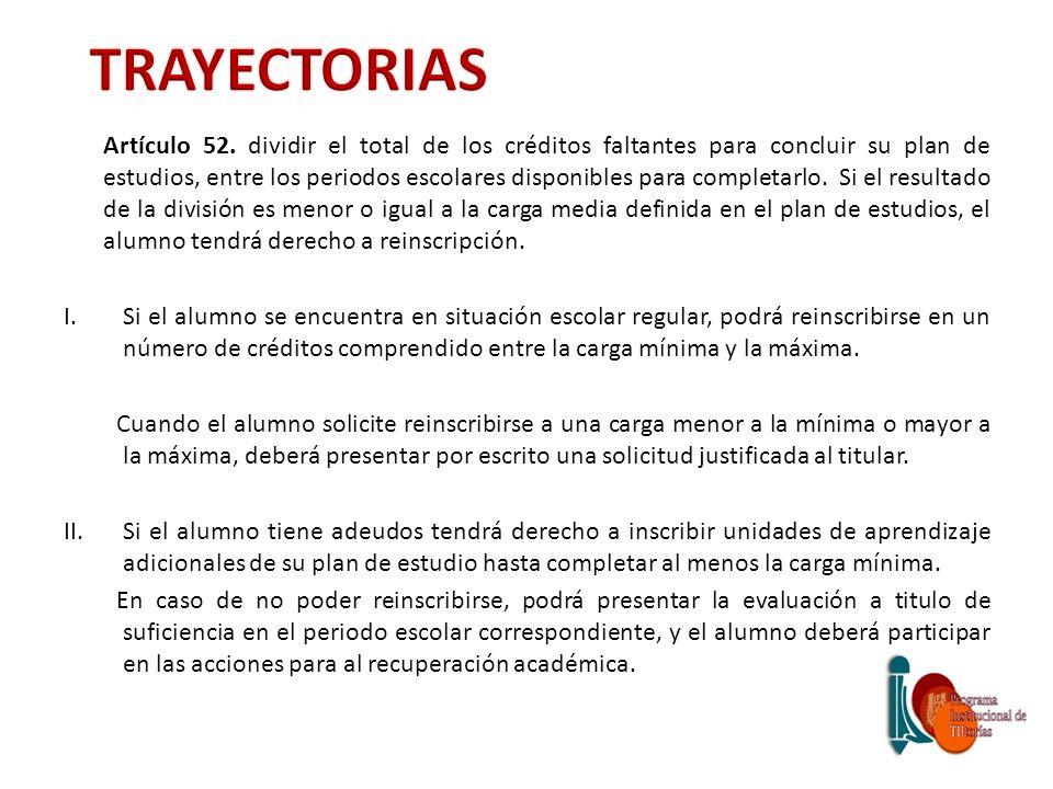 TRAYECTORIAS