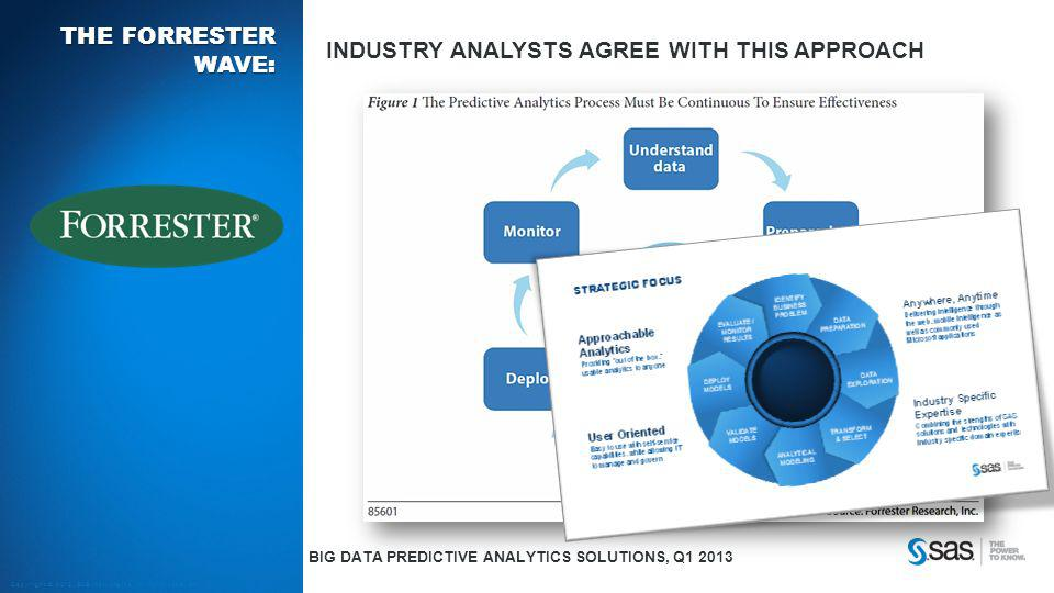 Industry analysts agree with this approach