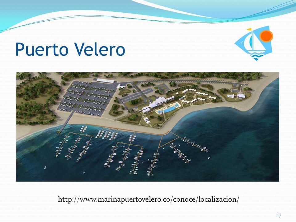 Puerto Velero http://www.marinapuertovelero.co/conoce/localizacion/