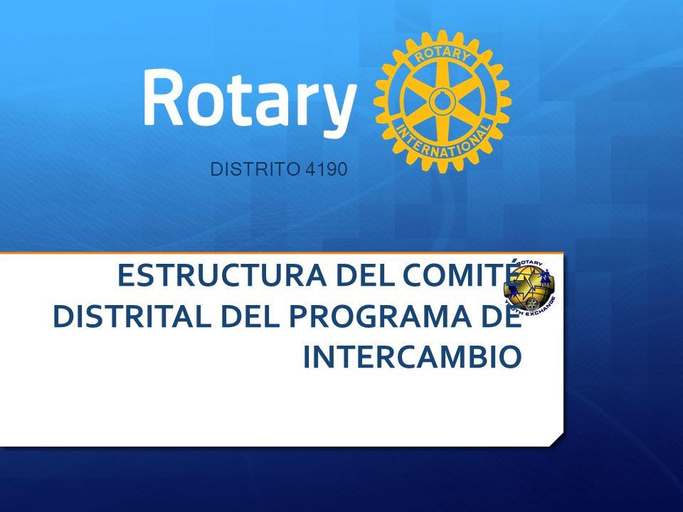 ESTRUCTURA DEL COMITÉ DISTRITAL DEL PROGRAMA DE INTERCAMBIO
