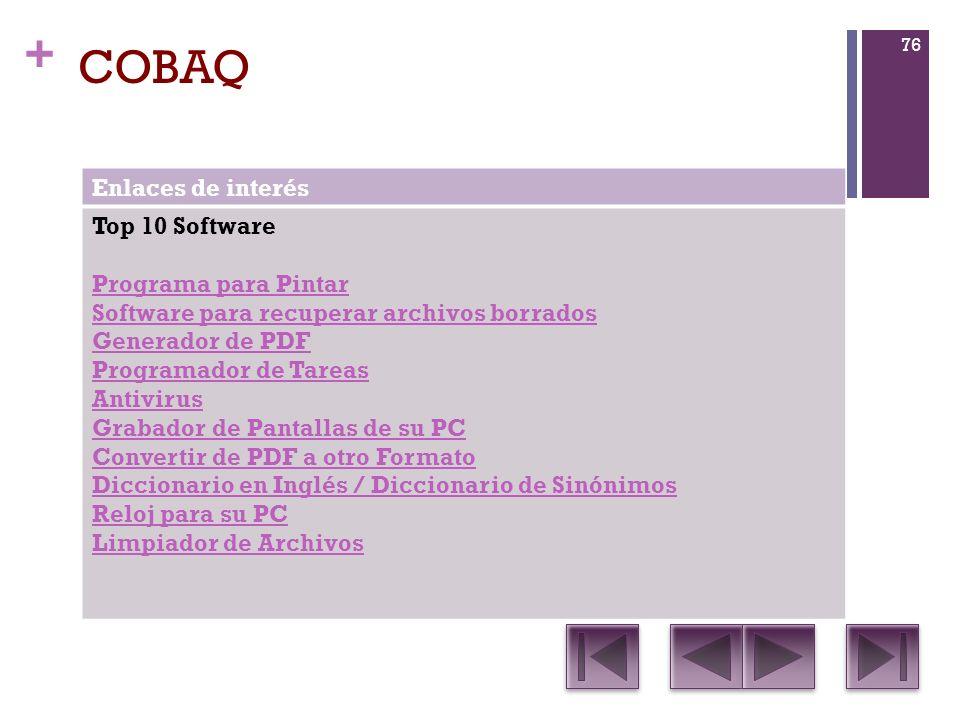 COBAQ Enlaces de interés Top 10 Software Programa para Pintar