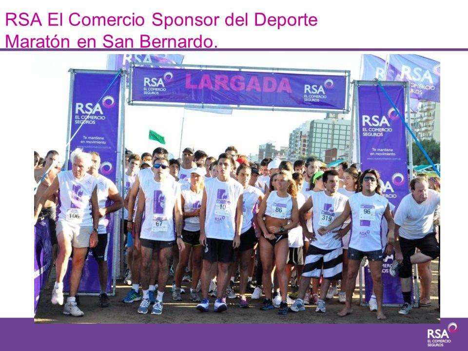 RSA El Comercio Sponsor del Deporte