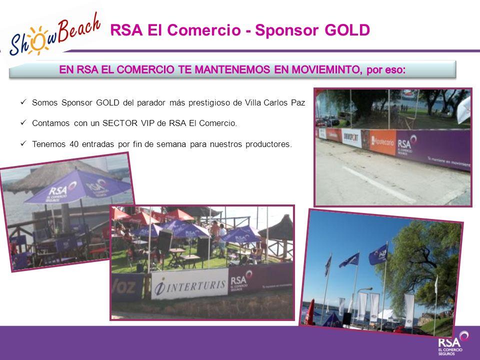 RSA El Comercio - Sponsor GOLD
