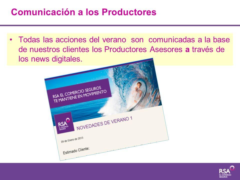Comunicación a los Productores