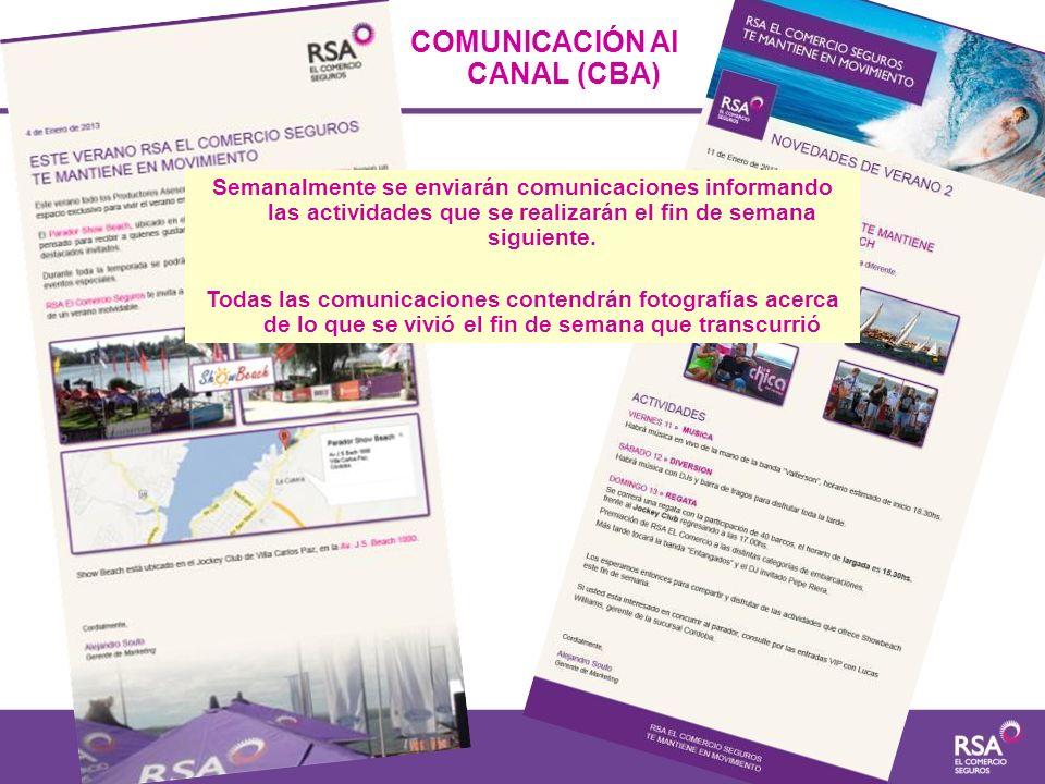 COMUNICACIÓN Al CANAL (CBA)
