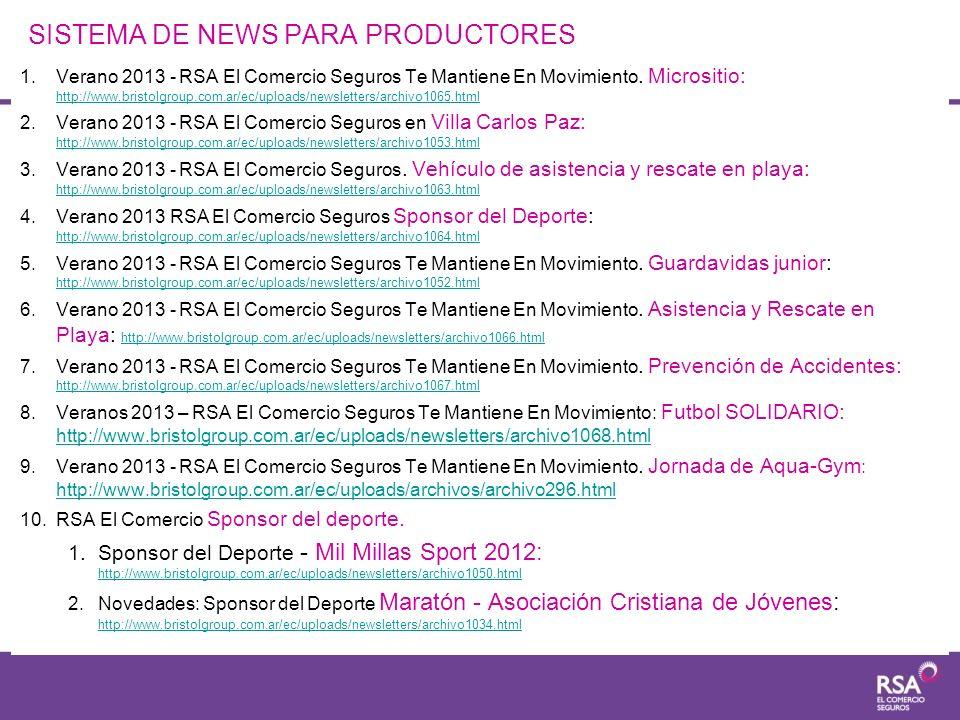 SISTEMA DE NEWS PARA PRODUCTORES