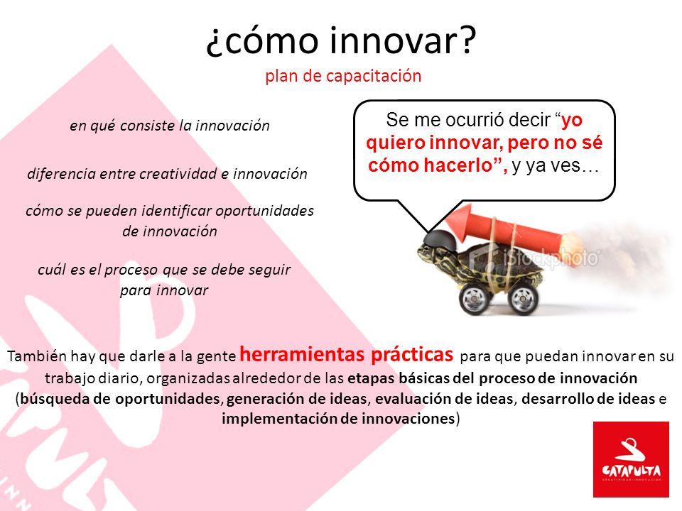 ¿cómo innovar plan de capacitación