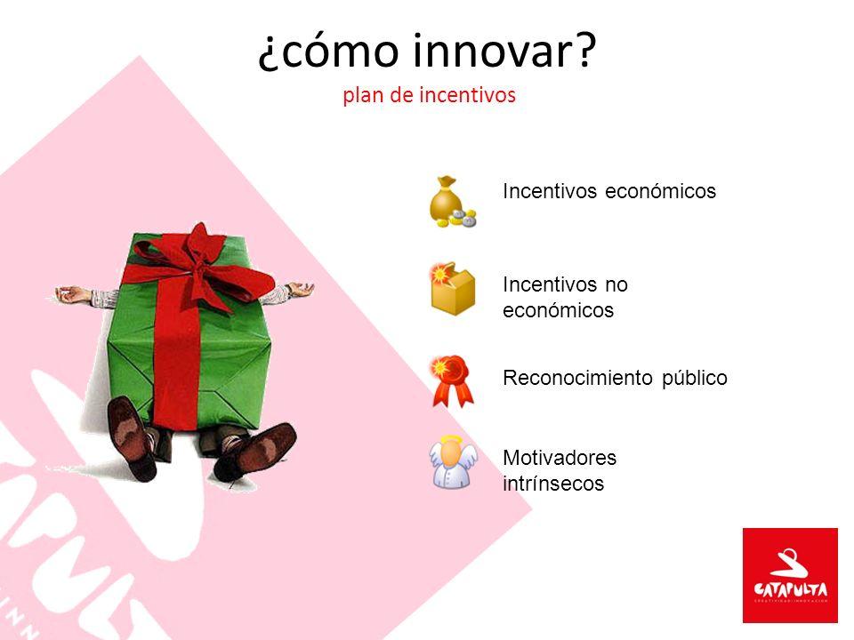 ¿cómo innovar plan de incentivos