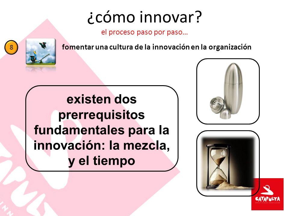 ¿cómo innovar el proceso paso por paso…