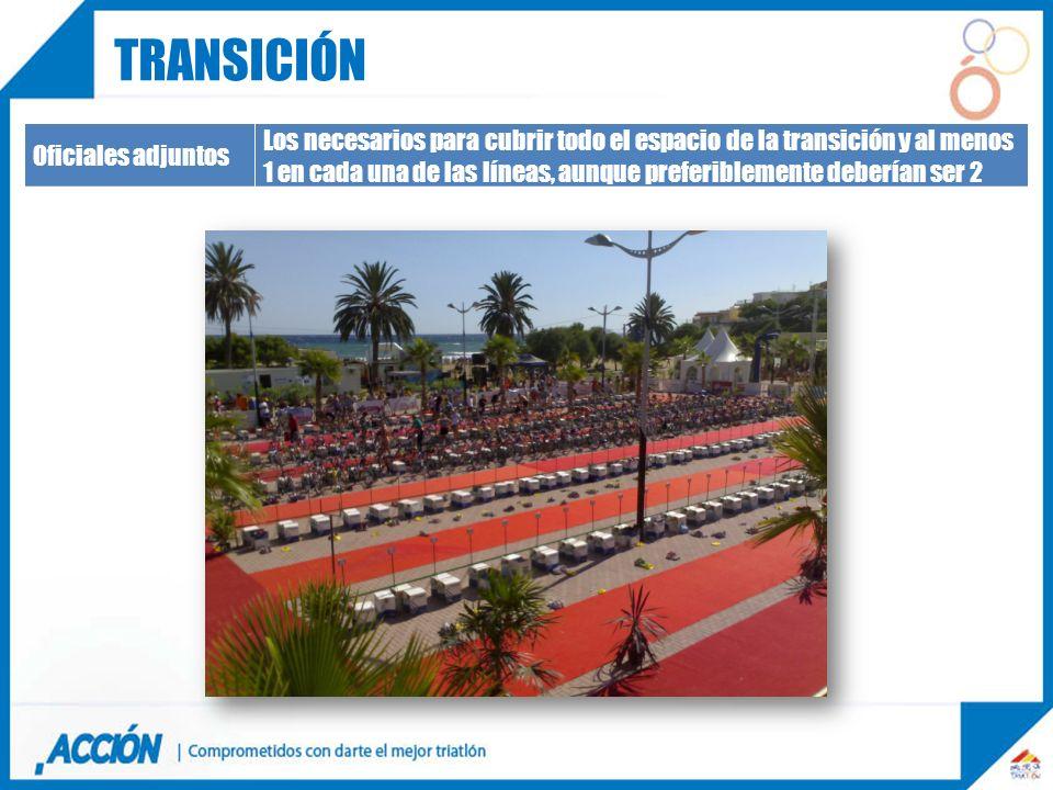 transición Oficiales adjuntos.