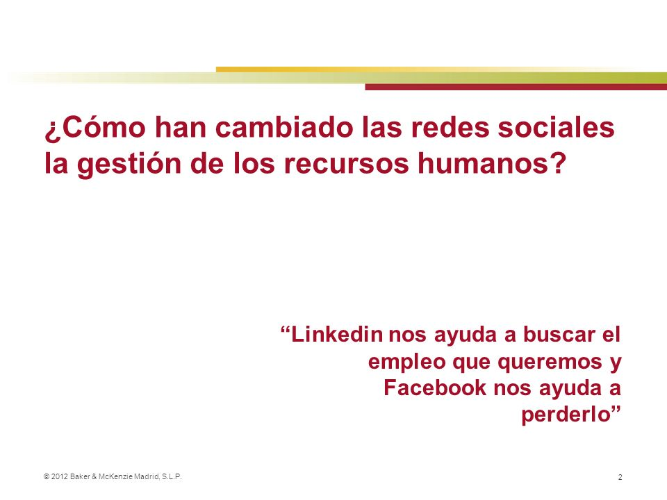 ¿Cómo han cambiado las redes sociales la gestión de los recursos humanos