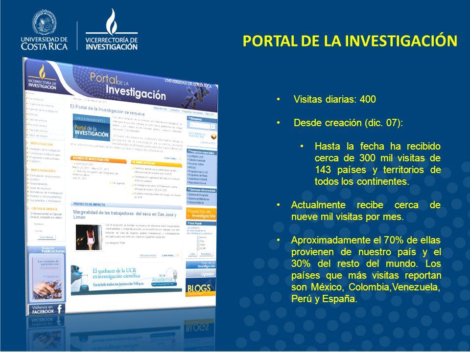 PORTAL DE LA INVESTIGACIÓN