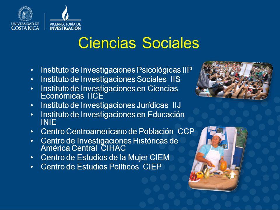 Ciencias Sociales Instituto de Investigaciones Psicológicas IIP