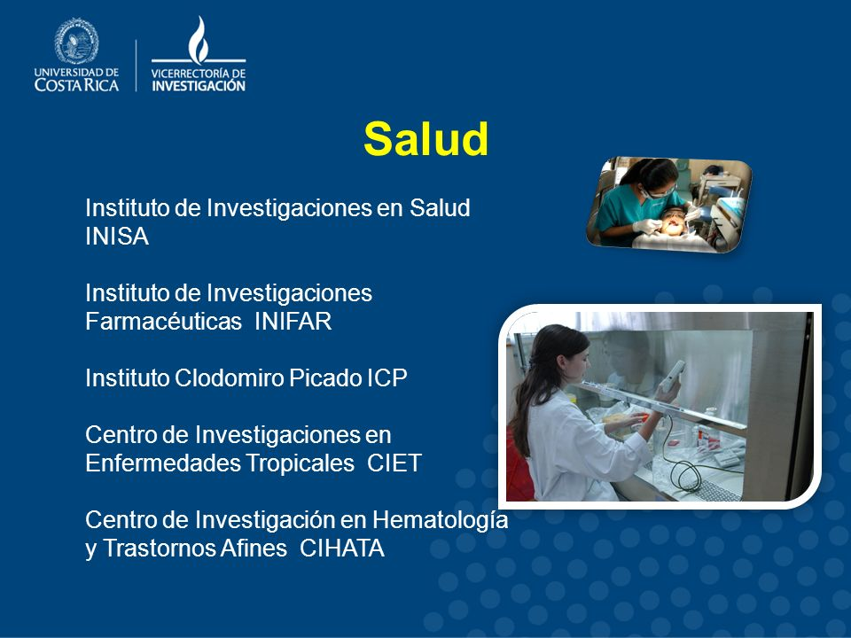 Salud Instituto de Investigaciones en Salud INISA