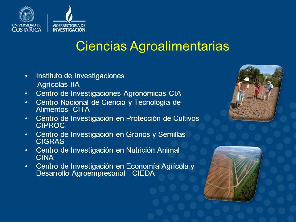 Ciencias Agroalimentarias