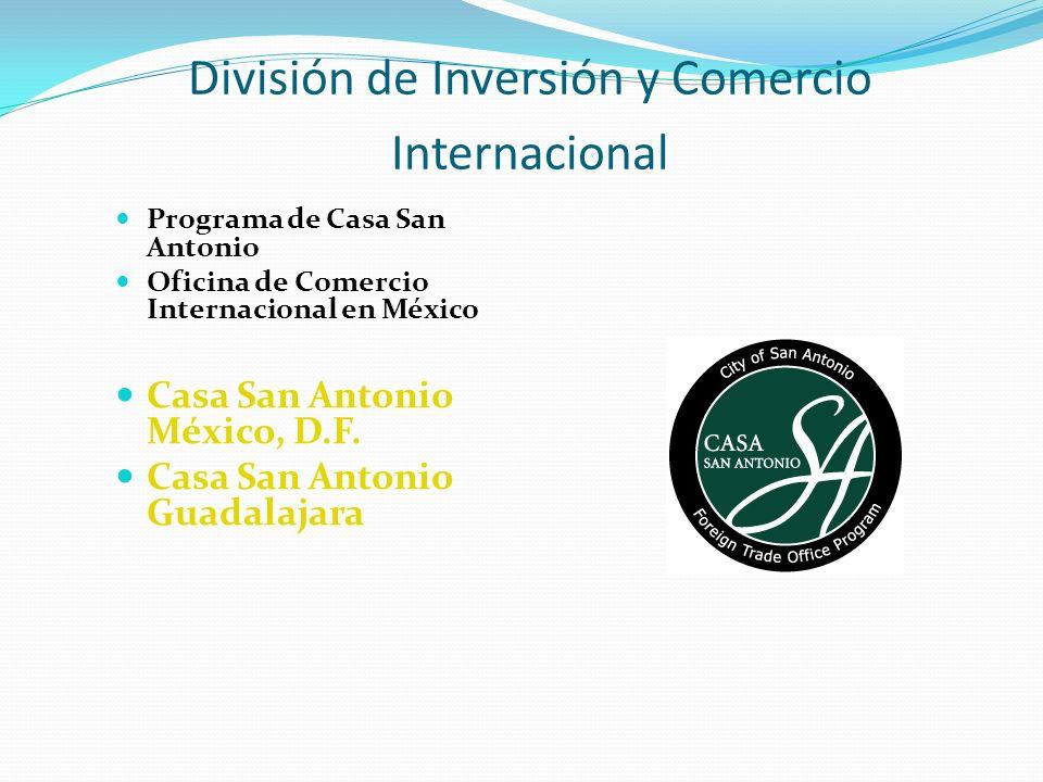 División de Inversión y Comercio Internacional