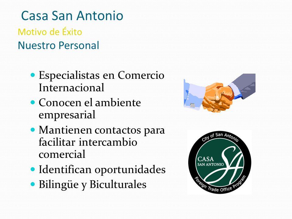 Casa San Antonio Motivo de Éxito Nuestro Personal