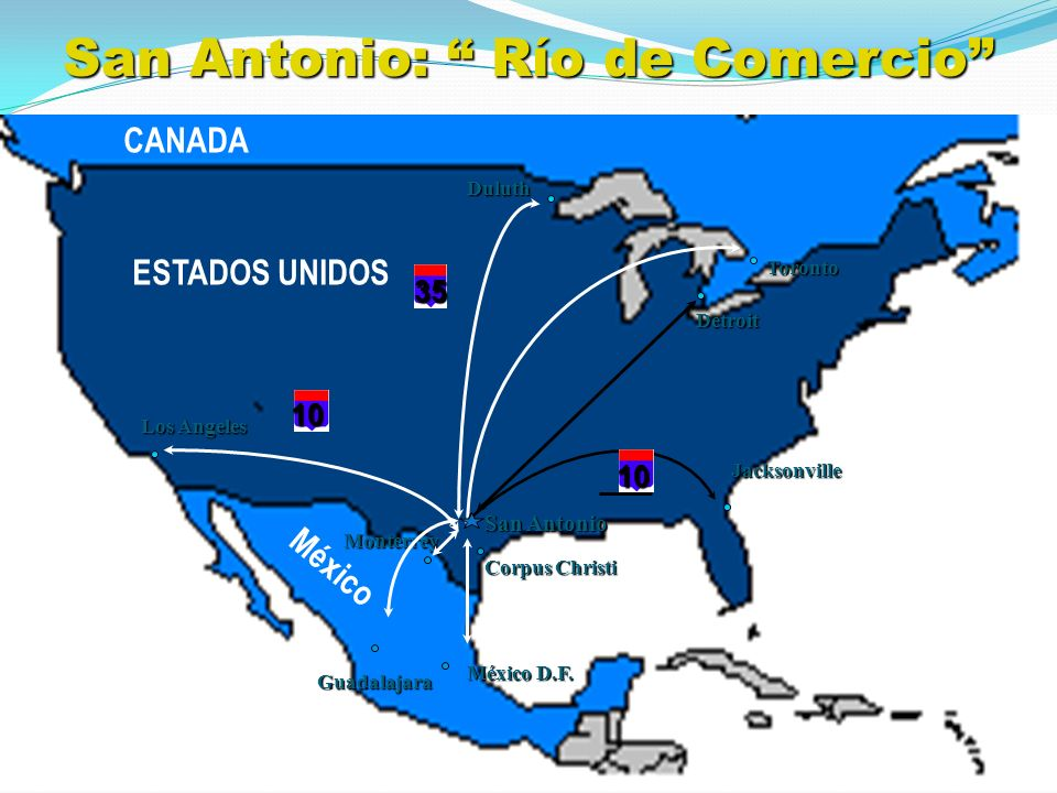 Distance Calculator - How far is it from San Antonio ...