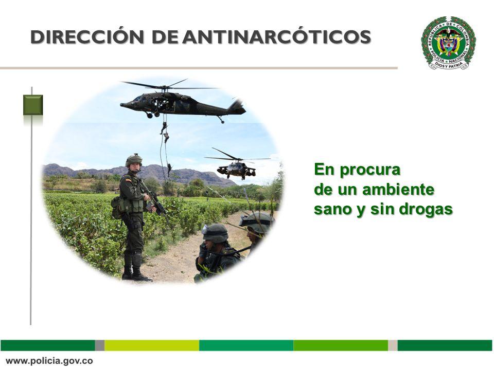DIRECCIÓN DE ANTINARCÓTICOS