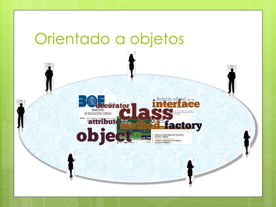 Orientado a objetos object object object object object