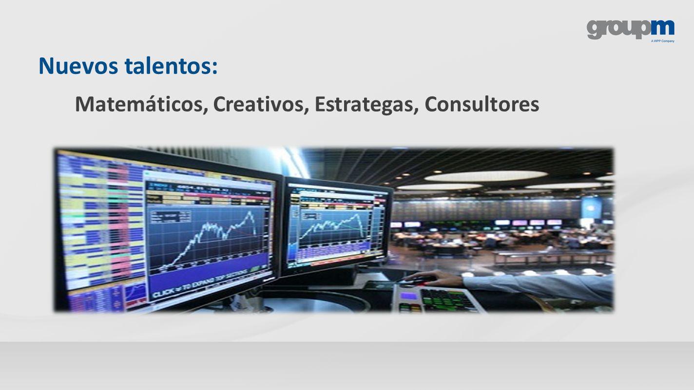 Nuevos talentos: Matemáticos, Creativos, Estrategas, Consultores