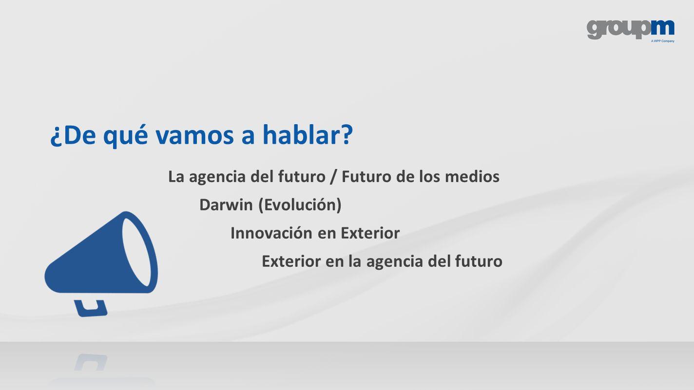 ¿De qué vamos a hablar La agencia del futuro / Futuro de los medios