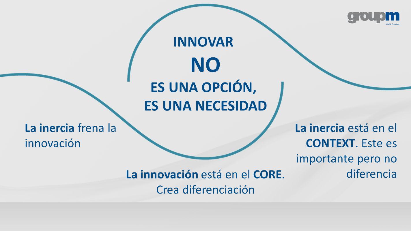 La innovación está en el CORE. Crea diferenciación