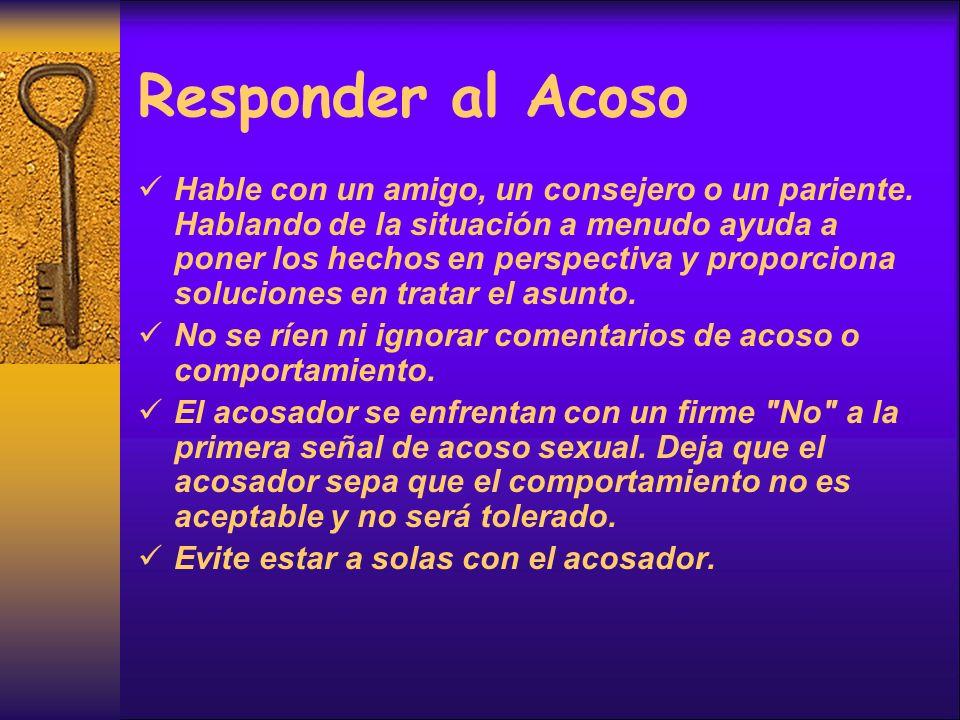 Responder al Acoso