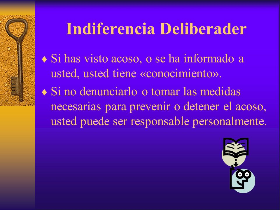 Indiferencia Deliberader