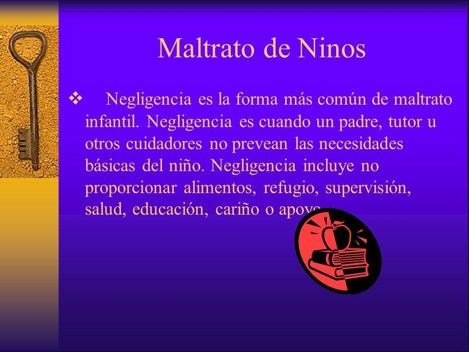 Maltrato de Ninos
