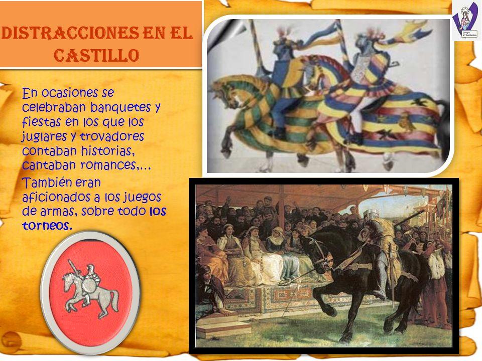 DISTRACCIONES EN EL CASTILLO