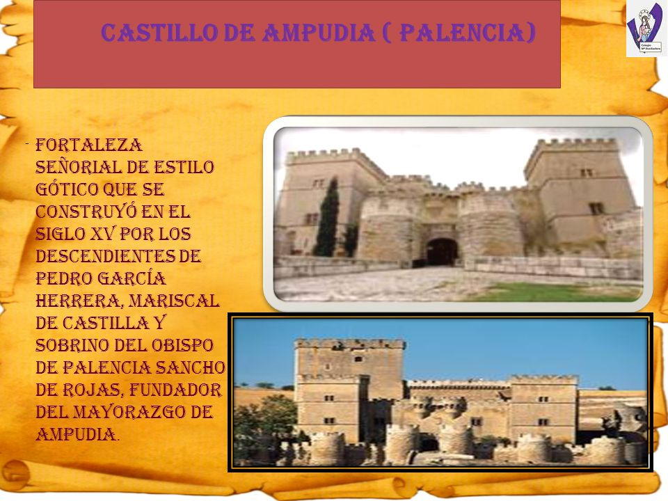 Castillo de Ampudia ( Palencia)