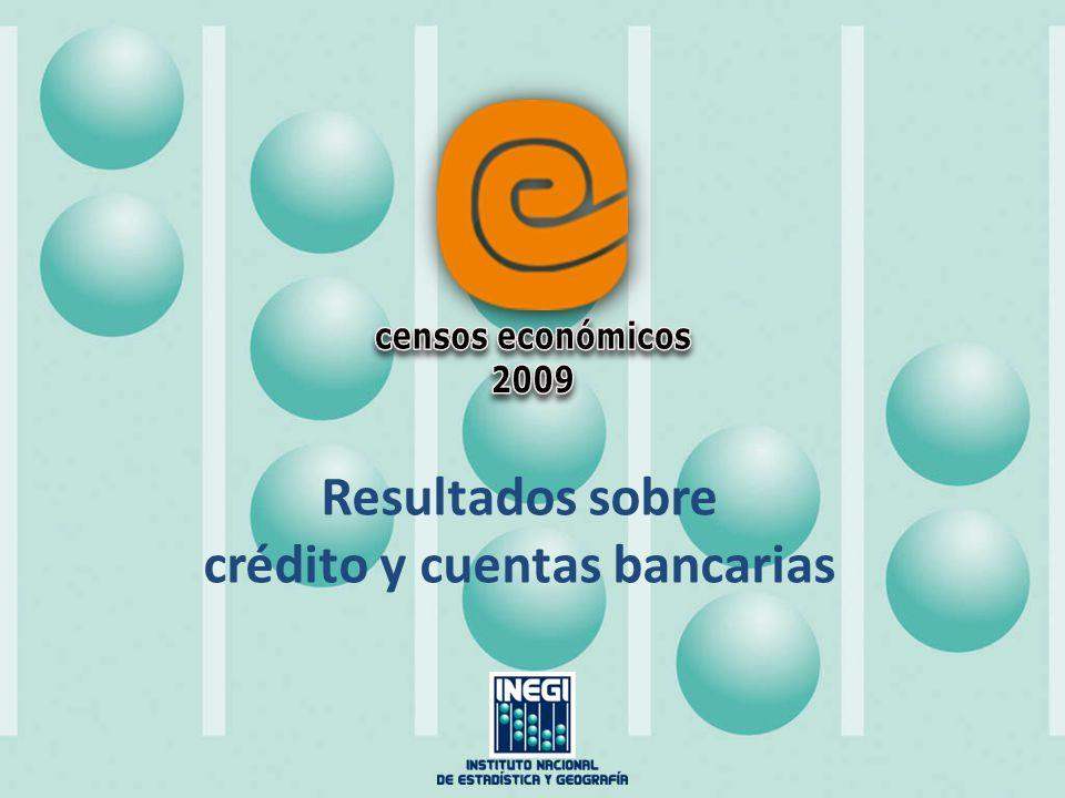 crédito y cuentas bancarias