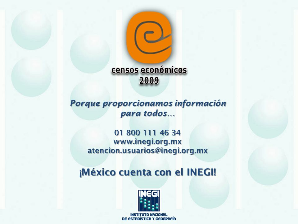 censos económicos 2009.