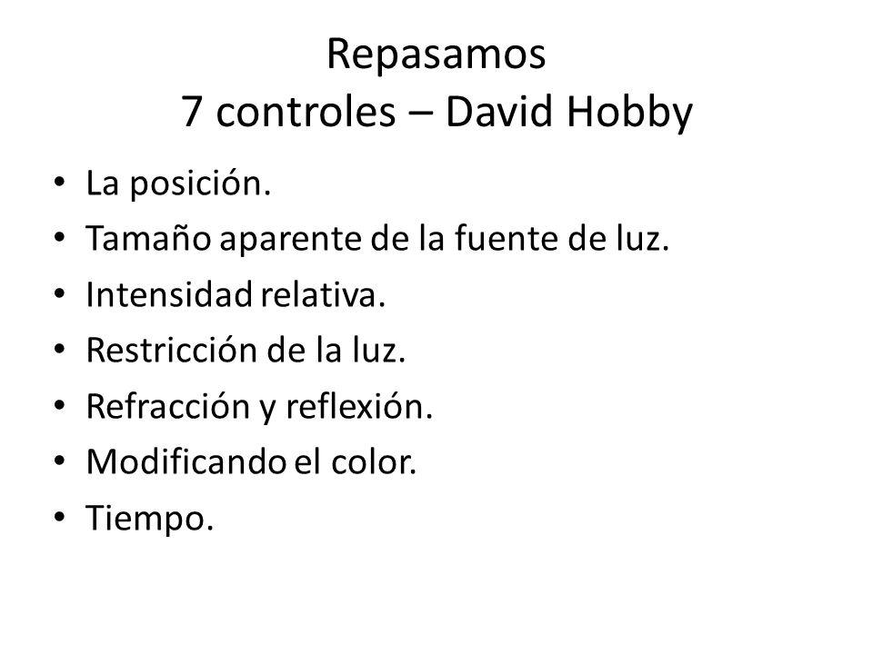 Repasamos 7 controles – David Hobby