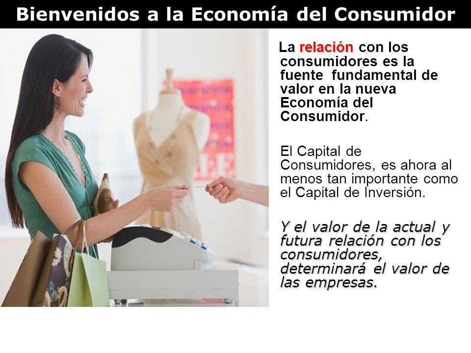Bienvenidos a la Economía del Consumidor