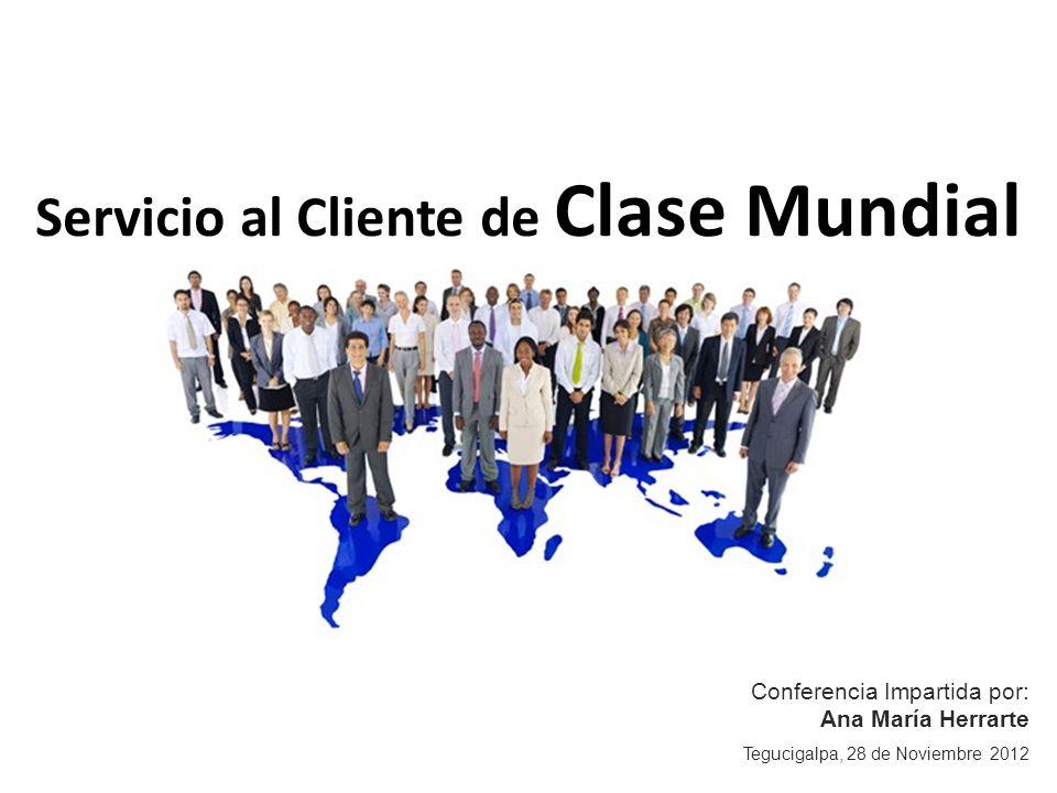 Servicio al Cliente de Clase Mundial