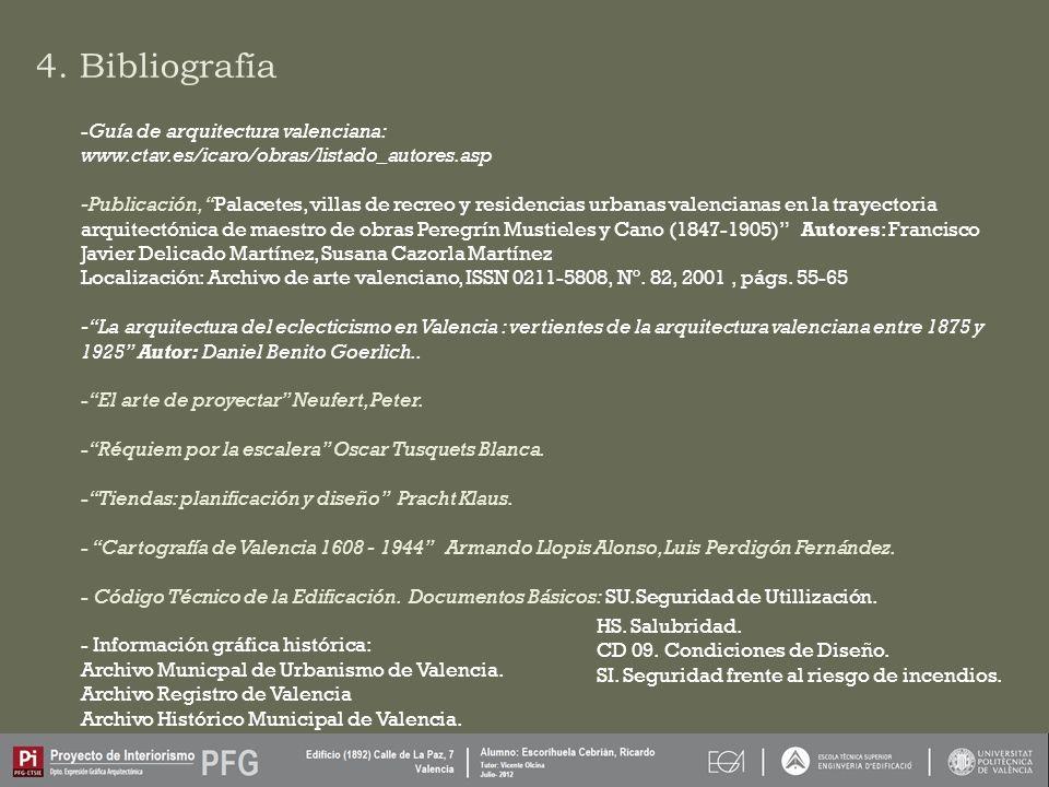4. Bibliografía Guía de arquitectura valenciana: