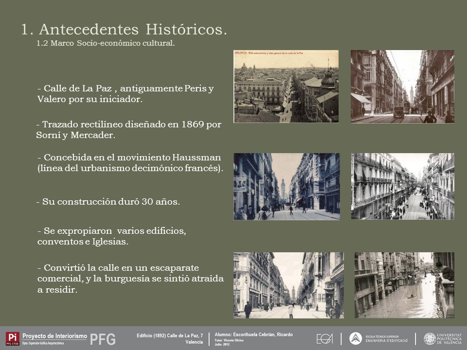 1. Antecedentes Históricos.