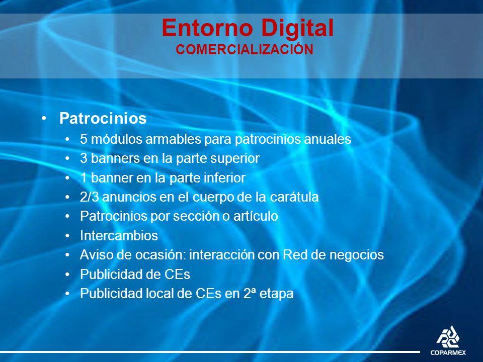 Entorno Digital COMERCIALIZACIÓN