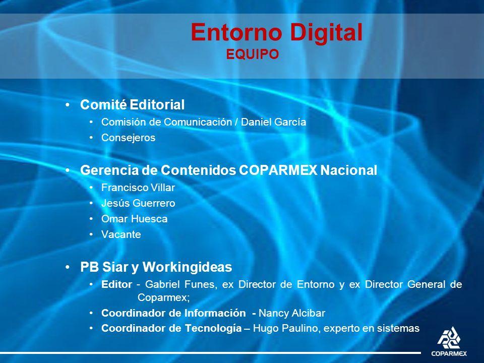 Entorno Digital EQUIPO