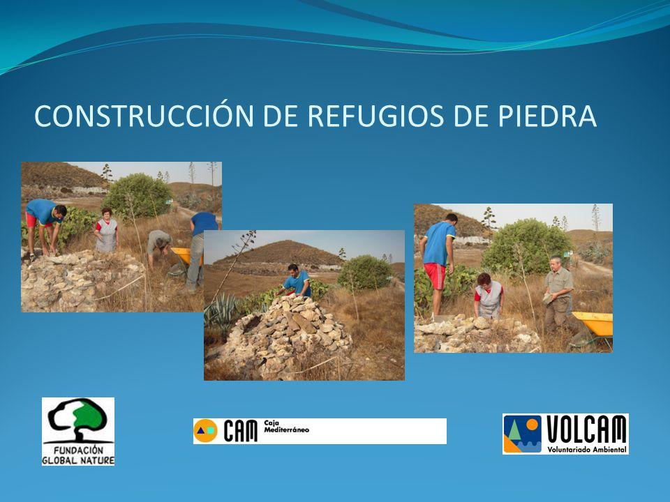 CONSTRUCCIÓN DE REFUGIOS DE PIEDRA