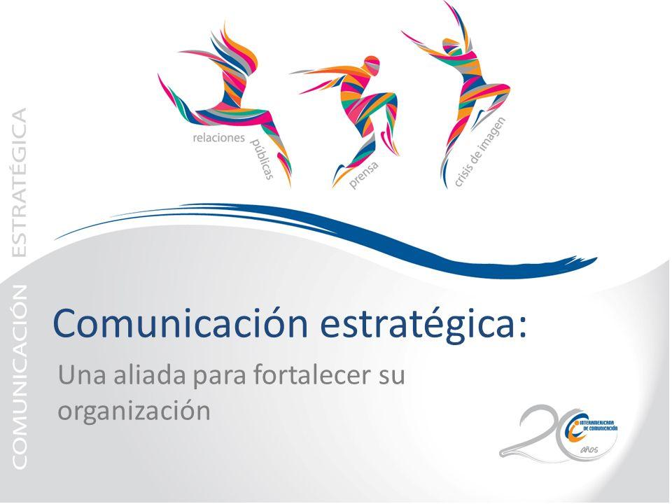 Comunicación estratégica: