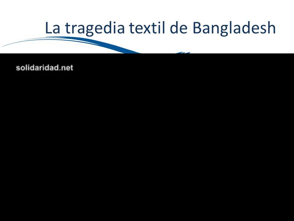 La tragedia textil de Bangladesh