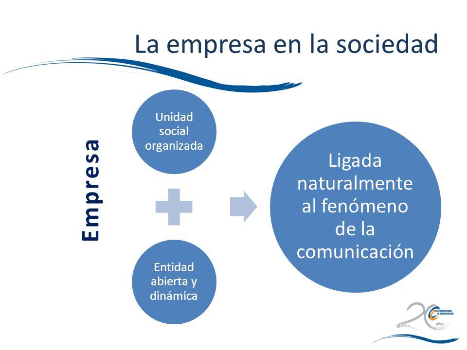 La empresa en la sociedad