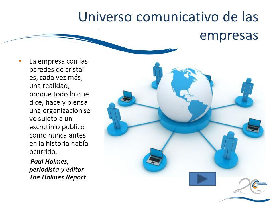 Universo comunicativo de las empresas