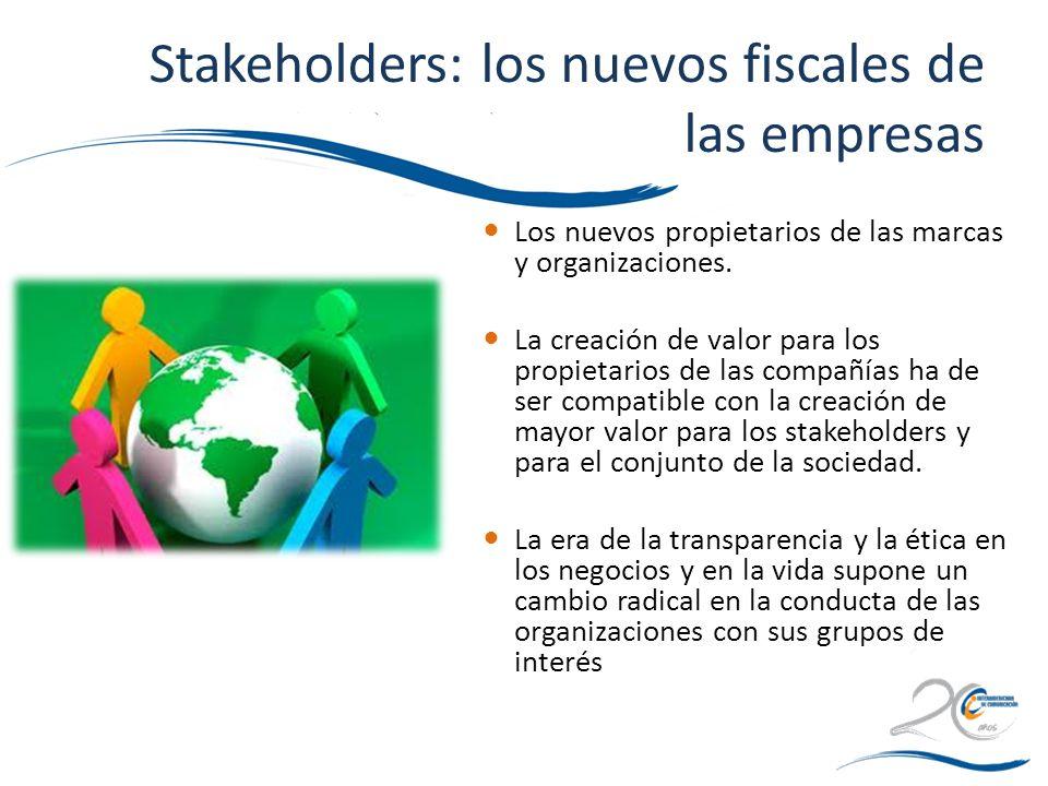 Stakeholders: los nuevos fiscales de las empresas