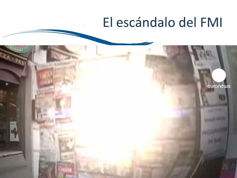 El escándalo del FMI Incluir imagen y vídeo