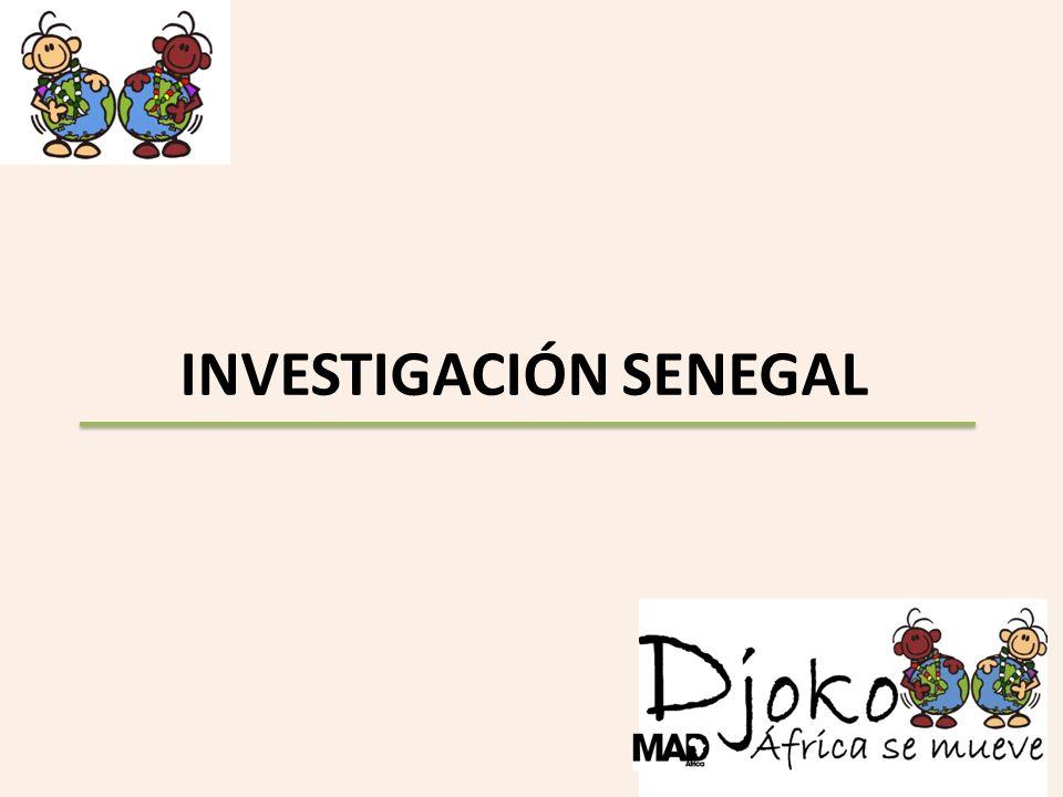 INVESTIGACIÓN SENEGAL